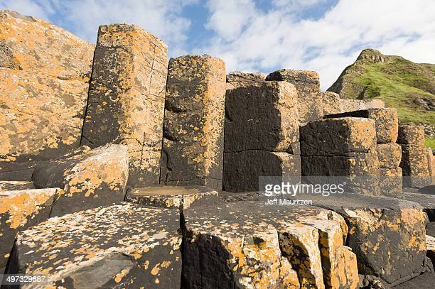 The Giant's Causeway in County Antrim, Northern Ireland.