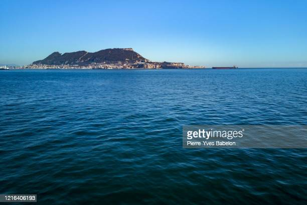the gibraltar rock - pierre yves babelon stock pictures, royalty-free photos & images