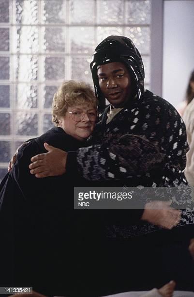 ER The Gift Episode 11 Air Date Pictured Rosemary Clooney as Mary Cavanaugh / 'Madame X' Kevin Michael Richardson as Patrick Photo by Paul...