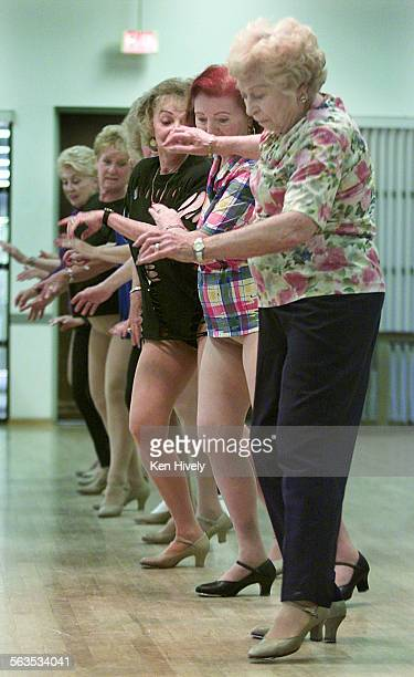 The Gingersnaps a group of former show girls who are in a dance company and their leader Kendall Capps Some of the girls are in their 80's Photo of...