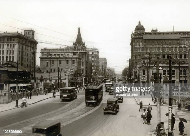 The Ginza in Tokyo around 19201923