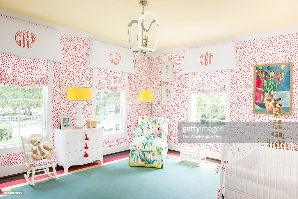 The Giraffe Themed Bedroom Of 15 Month Old Collins Gula In