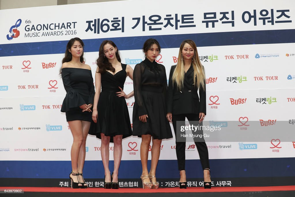 The 6th Gaon Chart K Pop Awards News Photo