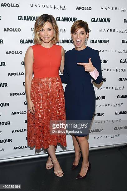The Girl Project advisory board member Sophia Bush and Glamour's EditorinChief Cindi Leive join Glamour The Power Of An Educated Girl panel at The...