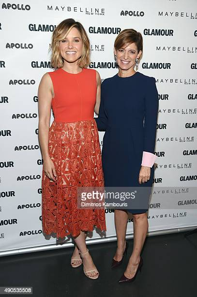 """The Girl Project advisory board member Sophia Bush and Glamour's Editor-in-Chief Cindi Leive join Glamour """"The Power Of An Educated Girl"""" panel at..."""