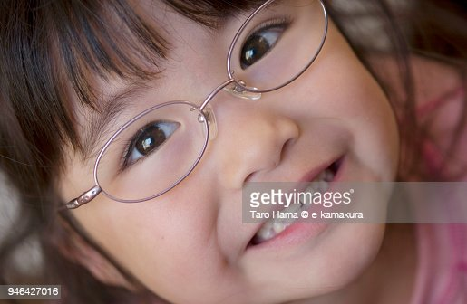 The Girl Relaxing In The Living Room At Home In Japan Stock Photo ...