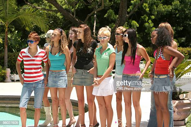 The Girl Who Makes a Disclaimer The girls prepare to work on their runway walk in AMERICA'S NEXT TOP MODEL on UPN