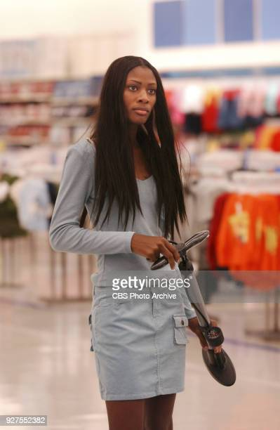 'The Girl Who Suddenly Collapsed'Tiffany competes in a runway walkoff challenge in a KMart store judged by JAlexander in an upcoming episode of...