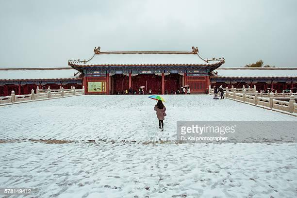 The girls in Forbidden City