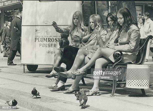 The girls of Copenhagen are a bonus treat for the eyes of the visitor whether feeding the Danish pigeons bicycling through the street or strolling...
