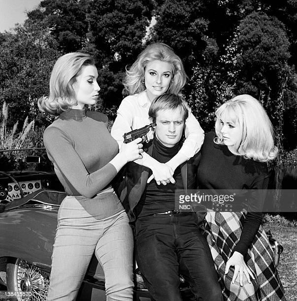 E The Girls of Nazarone Affair Episode 28 Aired Pictured Danica D'Hondt as Lucia Nazarone Sharon Tate as Therapist David McCallum as Illya Kuryakin...