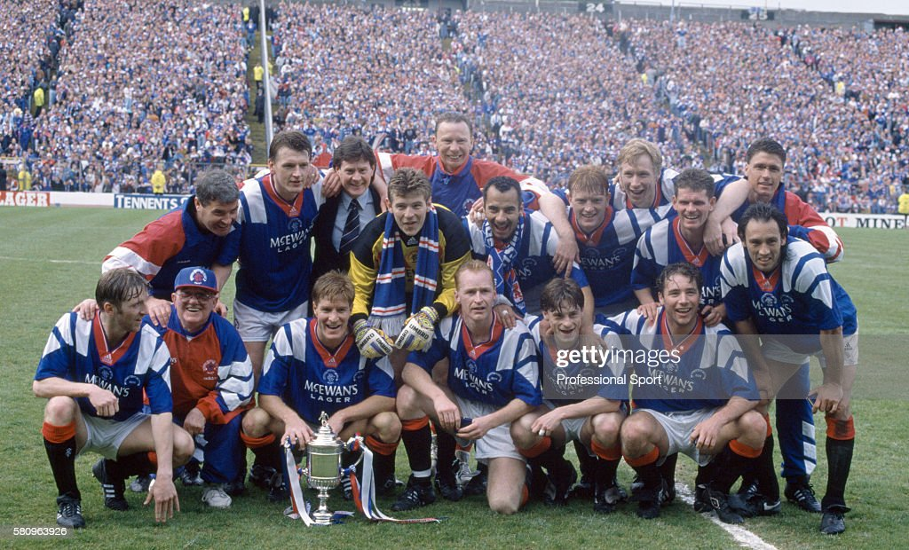 Scottish Cup Final - Glasgow Rangers v Airdrie : News Photo