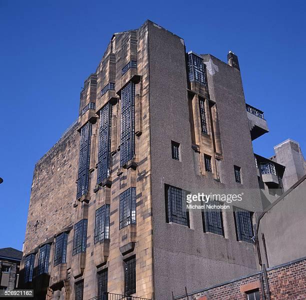The Glasgow School of Art designed by Charles Rennie Mackintosh ca 1899