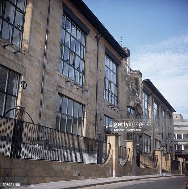 The Glasgow School of Art designed by Charles Rennie Mackintosh ca 1899
