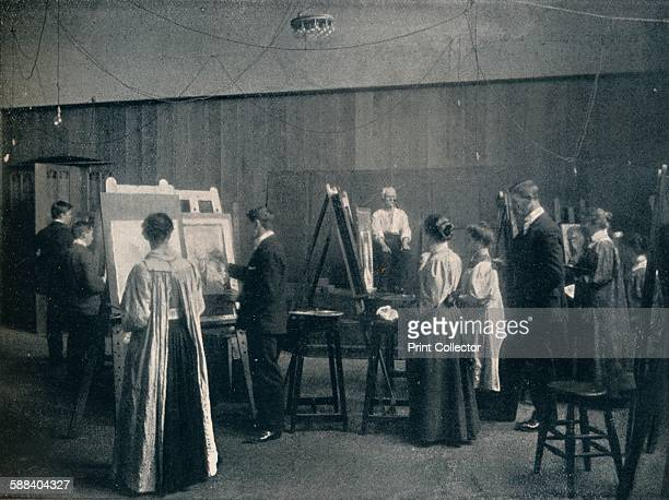 The Glasgow School of Art One of the Life Rooms' circa 1900 The Glasgow School of Art building designed by Charles Rennie Mackintosh between 18971909...