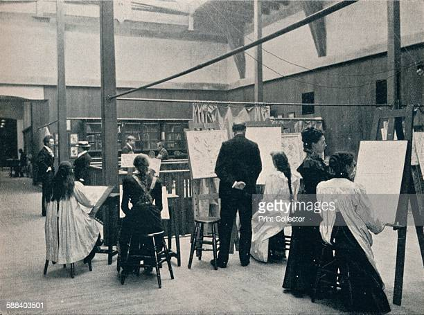 The Glasgow School of Art The Museum' circa 1900 The Glasgow School of Art building designed by Charles Rennie Mackintosh between 18971909 From The...