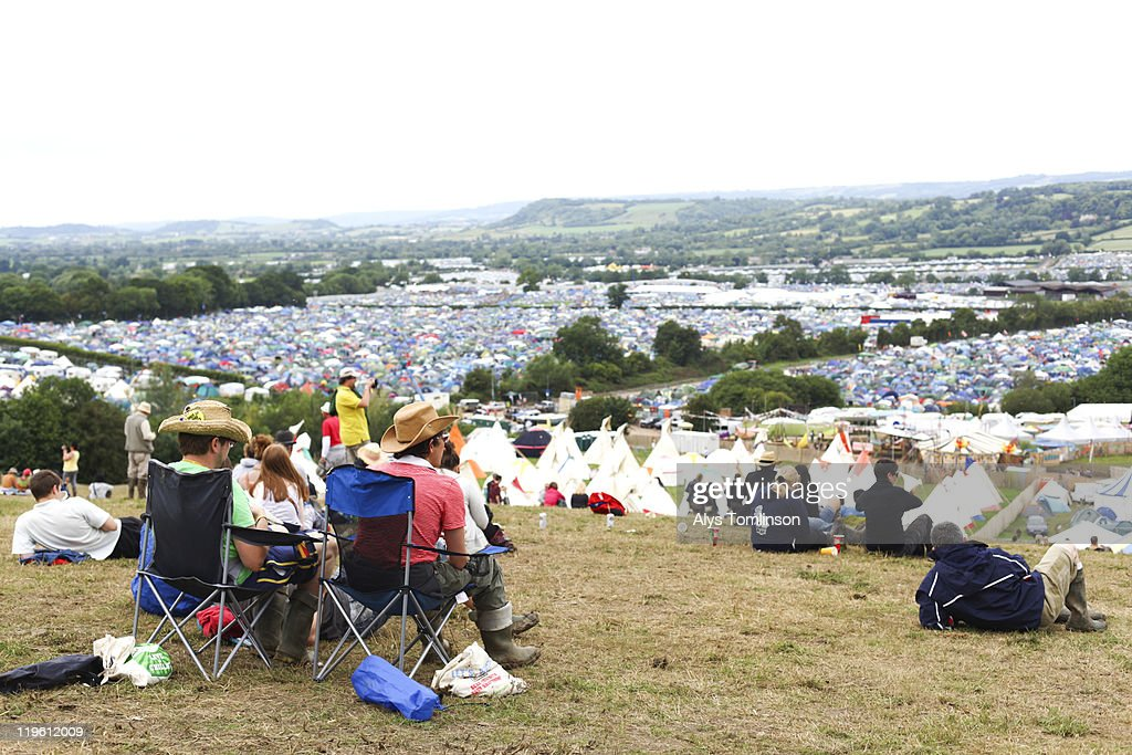 The Glastonbury Festival 2011 : Stock Photo