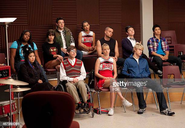 """The glee club learns about their latest assignment in """"The Substitute"""" episode of GLEE airing Tuesday, Nov. 16 on FOX. Pictured top row L-R: Amber..."""