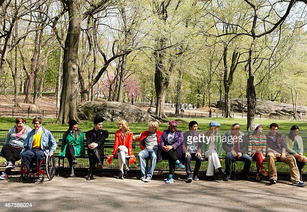 """The glee club visits New York City in the """"New York"""" season finale episode of GLEE airing Tuesday, May 24 on FOX."""