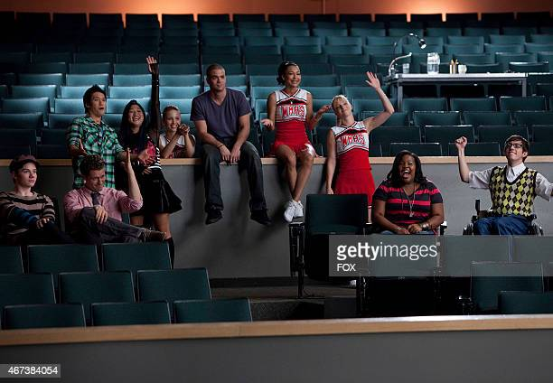 """The Glee club watch Sunshine perform in """"Audition,"""" the season premiere episode of GLEE airing Tuesday, Sept. 21 on FOX. ©2010 Fox Broadcasting..."""