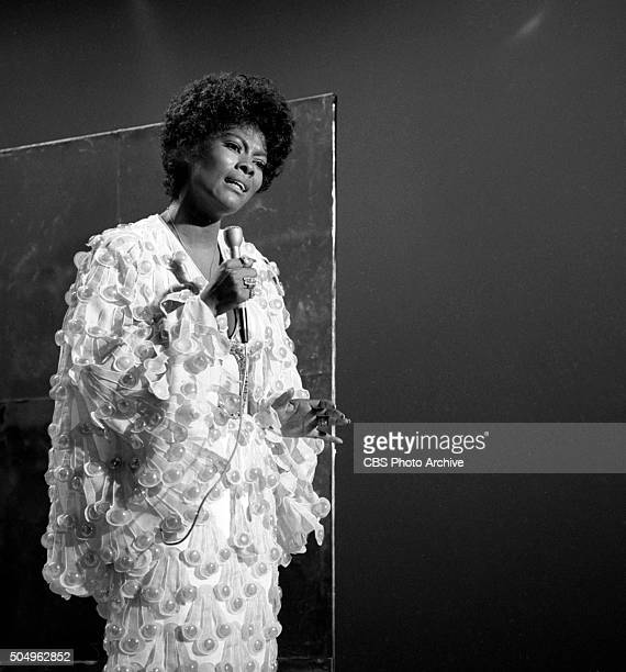 The Glen Campbell Goodtime Hour Dionne Warwick pictured Image dated September 24 1970 Los Angeles CA