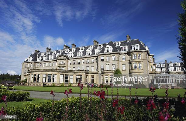 The Gleneagles Hotel during the third round of the Diageo Scottish PGA Championship being played on the PGA Centenary Course at Gleneagles,...