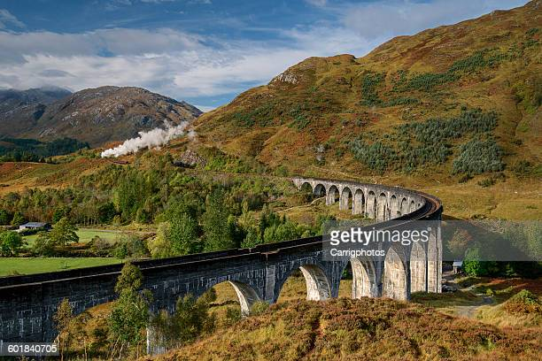 The Glenfinnan viaduct, Glenfinnan, Lochaber, Highlands, Scotland, UK