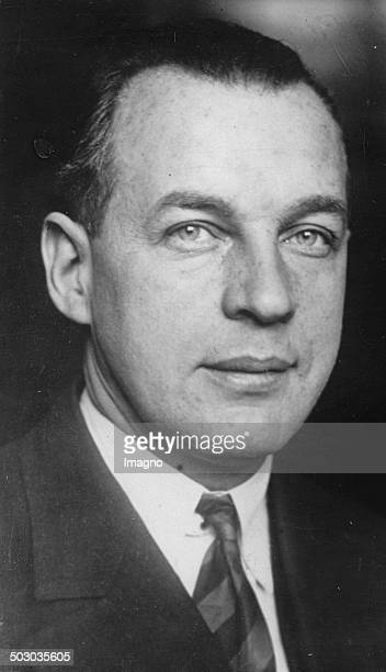 The gliding pioneer Hans Richter. About 1935. Photograph.