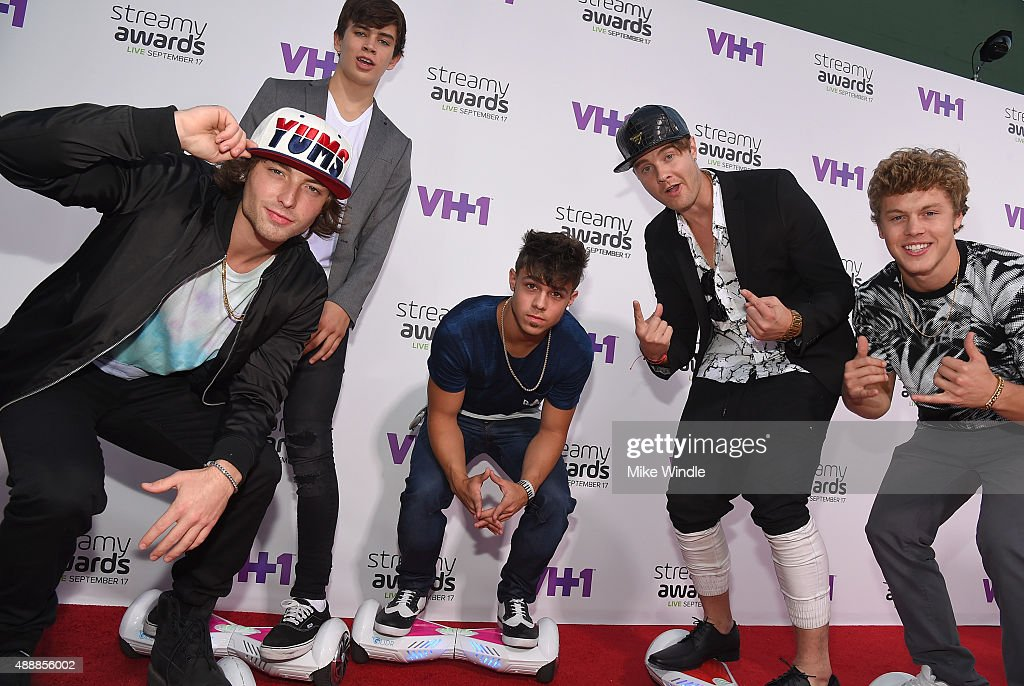 The Glidr Gang attends VH1's 5th Annual Streamy Awards at the Hollywood Palladium on Thursday, September 17, 2015 in Los Angeles, California.