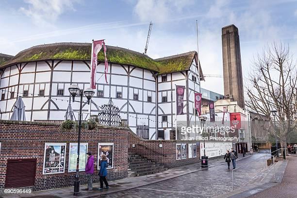 The Globe Theatre in London, UK.