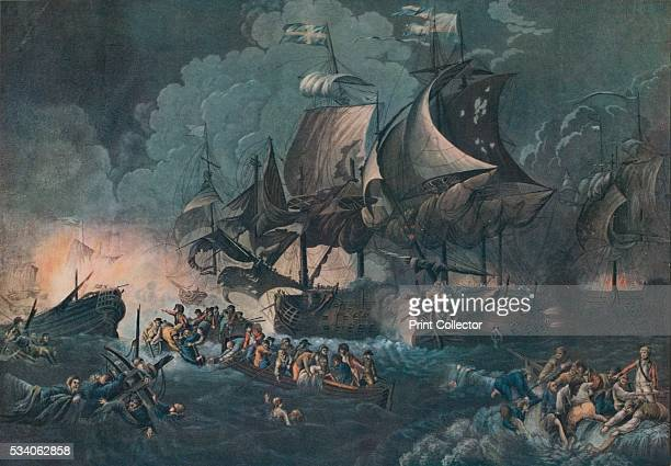 The Glorious First of June' from 'Old Naval Prints' by Charles N Robinson Geoffrey Holme 1924 The battle known as The Glorious First of June was the...