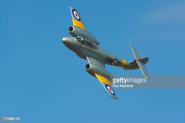 CONTENT] The Gloster Meteor was the first British jet fighter and the Allies' first operational jet It first flew in 1943 and commenced operations on...
