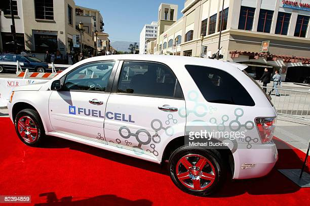 The GM Fuel Cell car displayed at the 2008 ALMA Awards at the Pasadena Civic Auditorium on August 17 2008 in Pasadena California