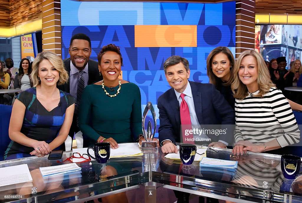 "ABC's ""Good Morning America"" - 2017 : News Photo"