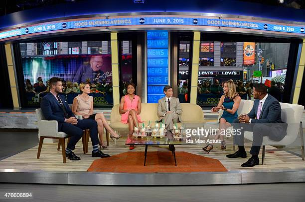 AMERICA The GMA team samples new coffee flavors from Starbucks on GOOD MORNING AMERICA 6/9/15 airing on the ABC Television Network