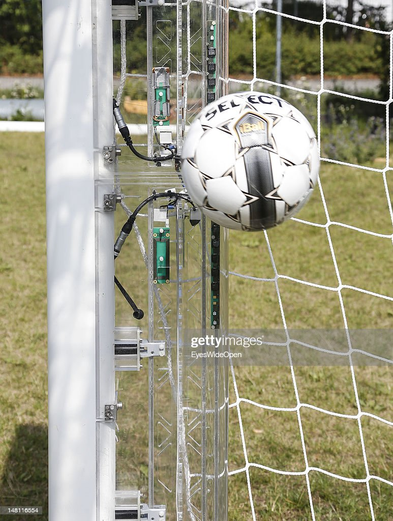 GoalRef Goal-Line Technology : News Photo