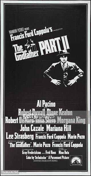 The Godfather Part II is a 1974 American crime epic produced and directed by Francis Ford Coppola from a screenplay cowritten with Mario Puzo...