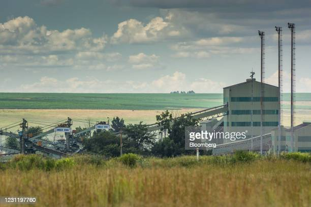 The Goedehoop coal mine, operated by Anglo American Plc, in Mpumalanga, South Africa, on Tuesday, Jan. 12, 2021. In South Africa, for decadesalmost...