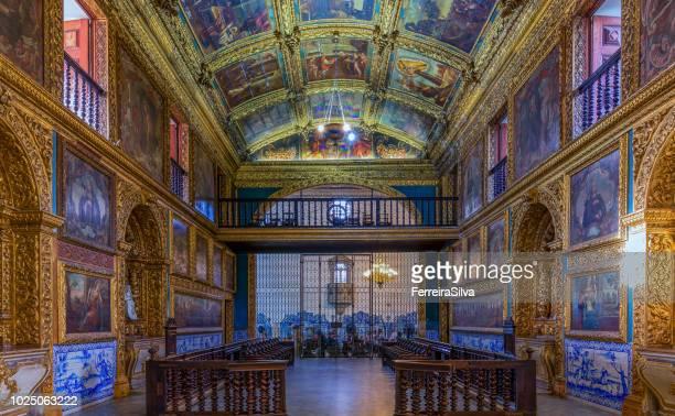 a capela dourada - capela - fotografias e filmes do acervo