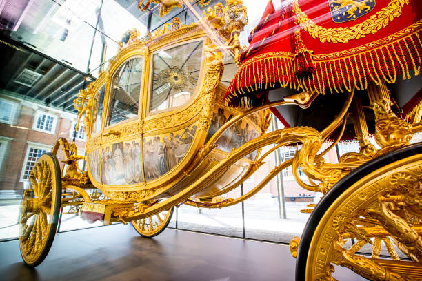 NLD: King Willem-Alexander Of The Netherlands Opens Golden Coach Exhibition In Amsterdam