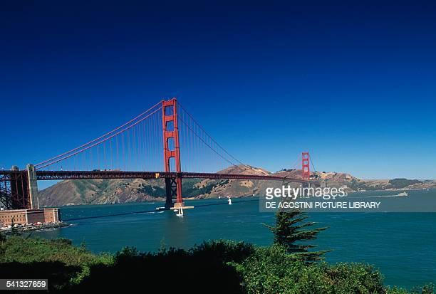 The Golden Gate Bridge 19331937 by Joseph Baermann Strauss San Francisco Bay California United States of America