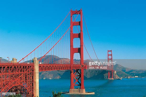 The Golden Gate Bridge as seen from Fort Point by Joseph Baermann Strauss San Francisco California United States of America