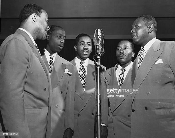 The Golden Gate Quartet studio portrait USA 1950