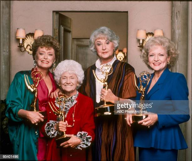 GIRLS 9/14/85 9/14/92 The Golden Girls is one of only three sitcoms in which all the main actors won at least one Emmy Award Rue McClanahan Estelle...
