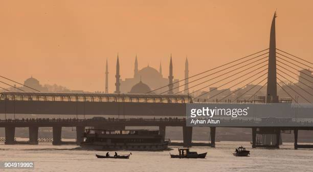 The Golden Horn in the morning ,Istanbul,Turkey
