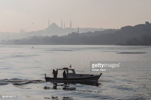 The Golden Horn of Istanbul,Turkey