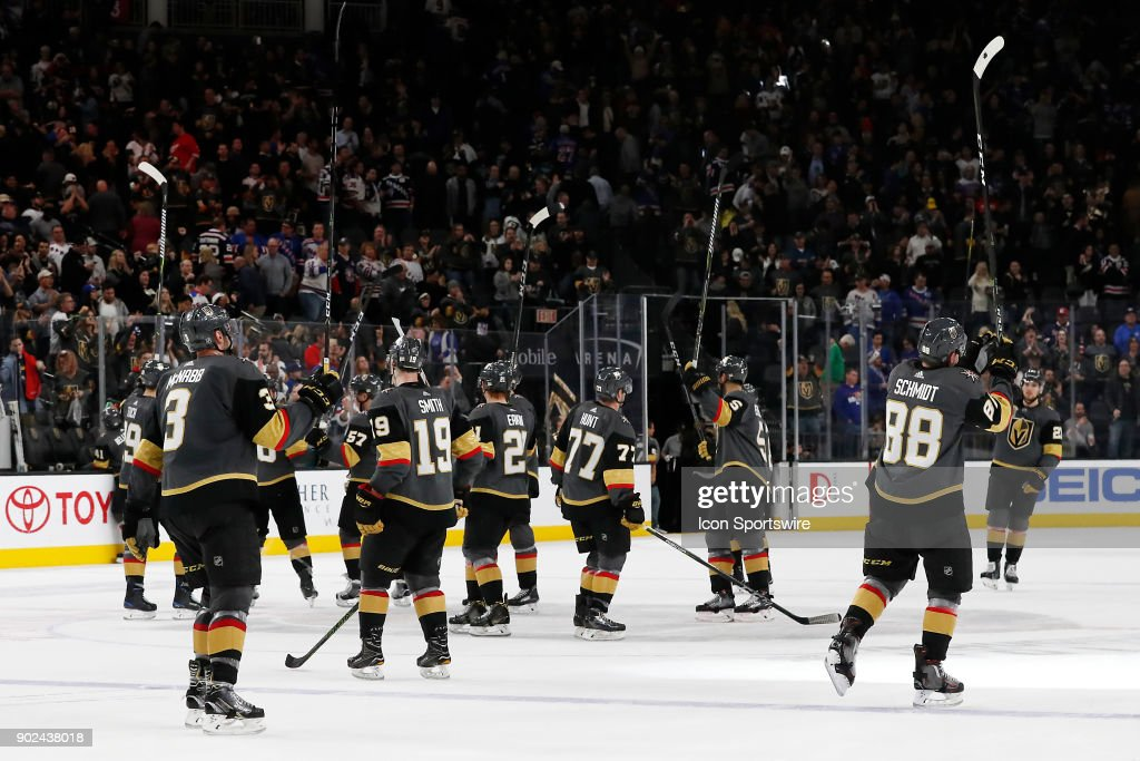 Image result for vegas golden knights salute to crowd