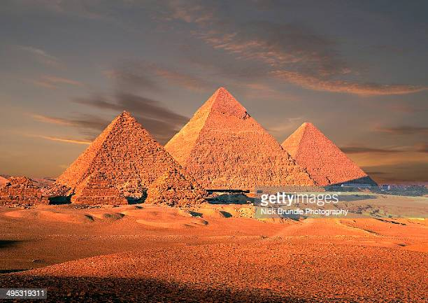 The Golden Pyramids of Egypt