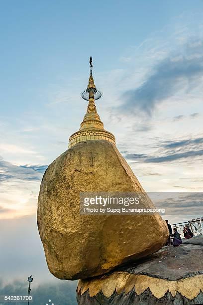 The Golden Rock Kyaikhtiyo Pagoda Myanmar