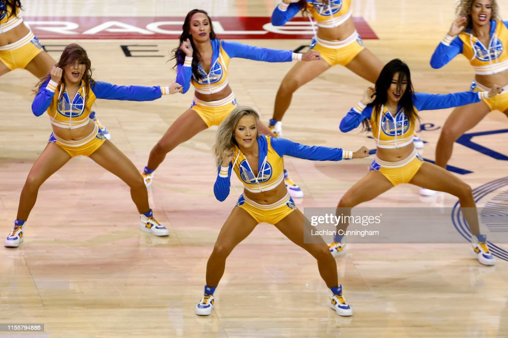 The Golden State Warriors Cheerleaders Perform During Game Six Of The News Photo Getty Images